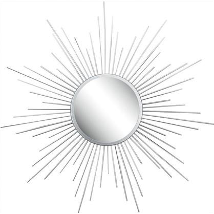 Зеркало в раме Серебряные лучи D60см цена