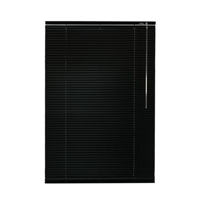Жалюзи алюминий 70х155 см цвет черный цена