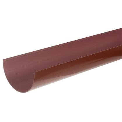 Желоб водосточный 2 м 125 мм цвет красный цена