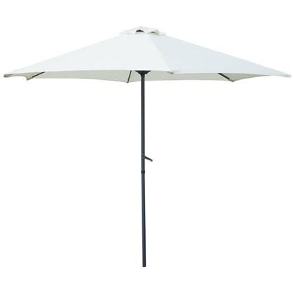 Зонт дачный 2.7 м бежевый сталь