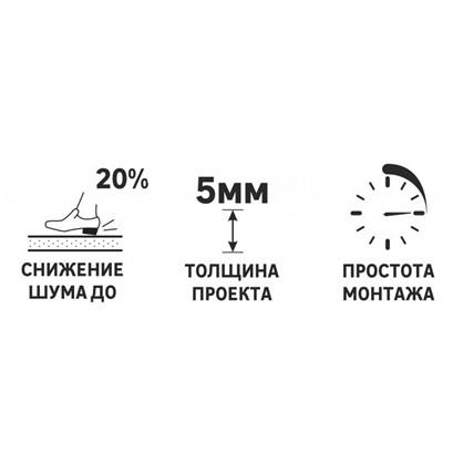 Звукоизоляция для пола Троцеллен Акустик 5 мм 23 м²