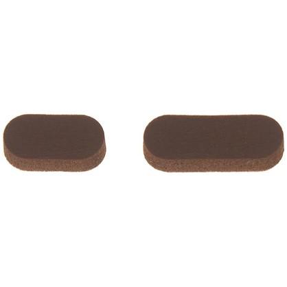 Звукопоглотитель 7x16 мм поролон цвет коричневый 10 шт. цена