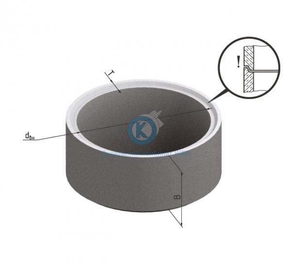 Кольцо бетонное для колодца К-15-10чс