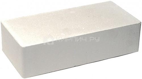 Кирпич одинарный М-250 белый гладкий