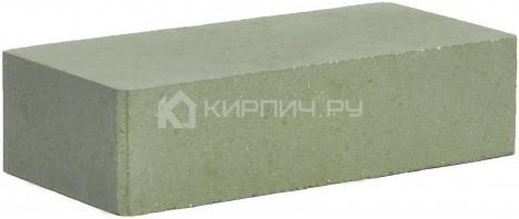 Кирпич гиперпрессованный одинарный М-250 зеленый гладкий цена