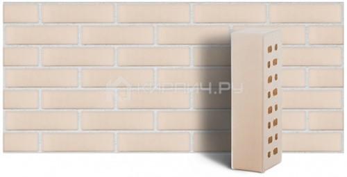 Кирпич Белый Неаполь гладкий 250х85х65 М-300