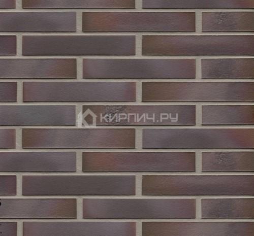 Кирпич клинкерный Feldhaus Klinker Salina carmesi maritimo K581DF с нагаром 240х115х52