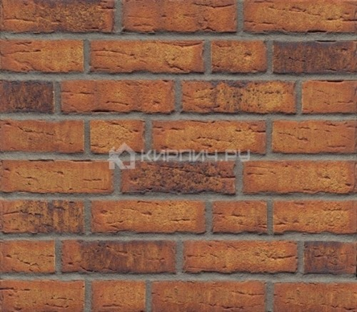 Кирпич клинкерный Feldhaus Klinker Sintra nolani viva ohne Kohle K684WDF ручная формовка 215х102х 65