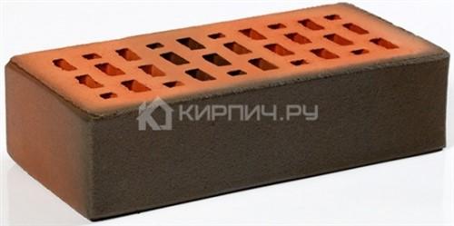Кирпич для фасада баварская кладка темный одинарный гладкий М-200 Пятый Элемент
