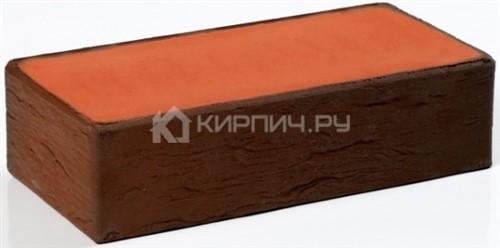 Кирпич баварская кладка темный одинарный полнотелый руст М-200 Пятый Элемент