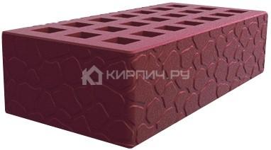 Кирпич  М-150 бордо одинарный черепаха Саранск