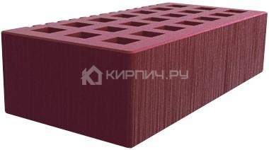 Кирпич  М-150 бордо одинарный шероховатый Саранск цена