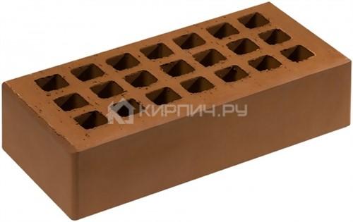 Кирпич для фасада какао одинарный гладкий М-150 Саранск
