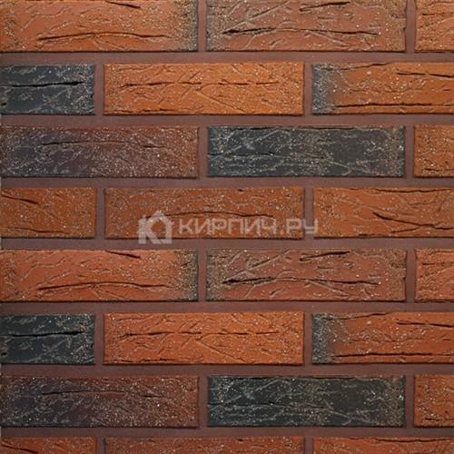 Кирпич для фасада керамический Terca (Wienerberger) RED flame с песком 250х85х65