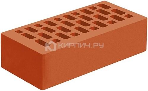 Кирпич для фасада корица одинарный гладкий М-175 Голицыно