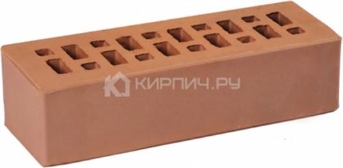 Кирпич для фасада коричневый евро гладкий М-175 ГКЗ