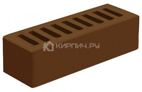 Кирпич облицовочный коричневый евро гладкий М-175 Голицыно