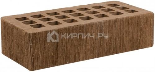 Кирпич облицовочный коричневый одинарный бархат М-175 ЖКЗ цена