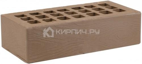 Кирпич одинарный коричневый дерево М-175 ЖКЗ