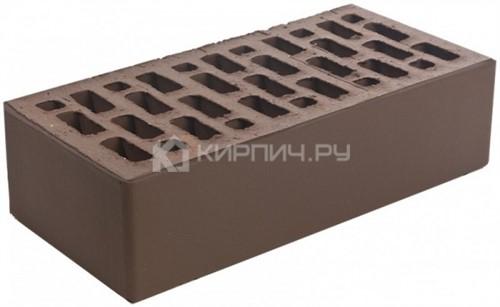 Кирпич Браер коричневый одинарный гладкий М-150 цена