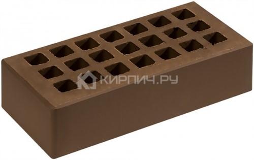 Кирпич  М-150 коричневый одинарный гладкий Саранск