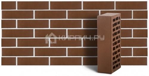 Кирпич для фасада коричневый одинарный гладкий М150 ЛСР цена