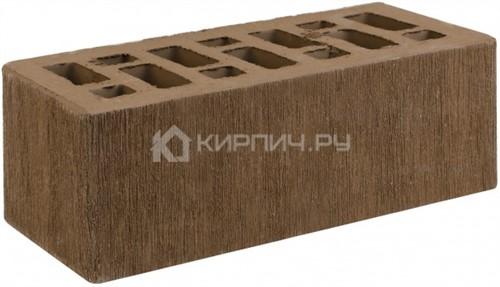 Кирпич для фасада коричневый полуторный бархат М-150 СтОскол