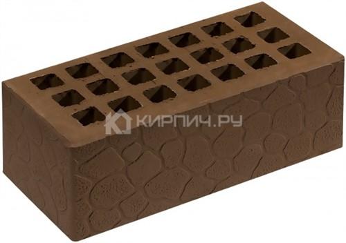 Кирпич  М-150 коричневый полуторный черепаха Саранск