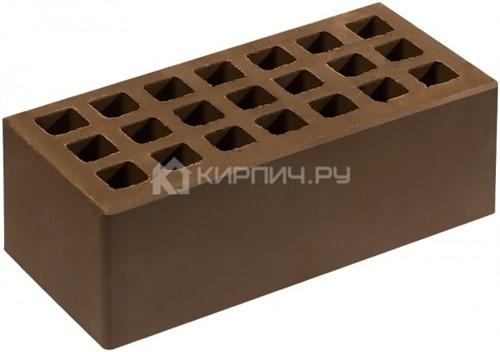 Кирпич  М-150 коричневый полуторный гладкий Саранск