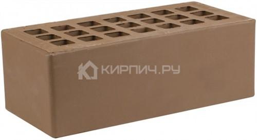 Кирпич для фасада коричневый полуторный гладкий М-175 ЖКЗ