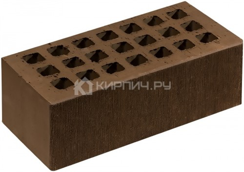 Кирпич  М-150 коричневый полуторный шероховатый Саранск
