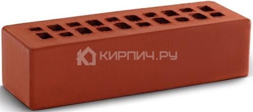 Кирпич облицовочный красный евро гладкий М-150 КС-Керамик