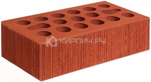 Кирпич одинарный красный бархат М-150 Керма в
