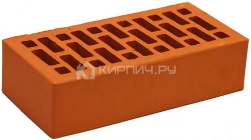 Кирпич облицовочный красный одинарный гладкий М-150 НЗКМ