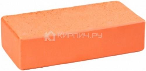 Кирпич облицовочный красный одинарный гладкий полнотелый М-300 ГКЗ в