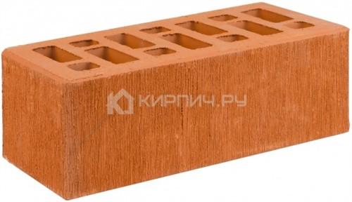 Кирпич для фасада красный полуторный бархат М-150 СтОскол