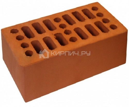 Кирпич красный полуторный гладкий М-150 Кострома цена