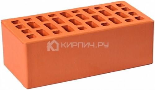 Кирпич облицовочный красный полуторный гладкий М-175 ГКЗ цена