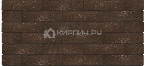 Кирпич одинарный Premium Brown granite кора дуба орех М-175 Керма