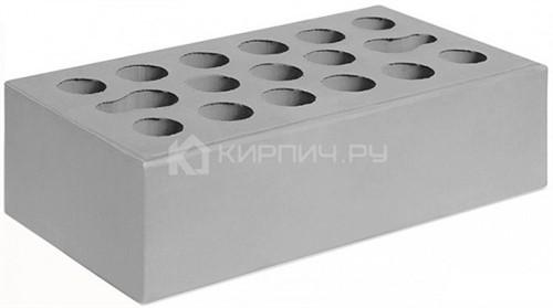 Кирпич одинарный серебро гладкий М-150 Керма в