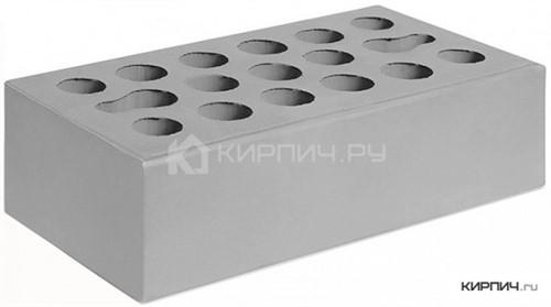 Кирпич  М-150 серебро одинарный гладкий Керма