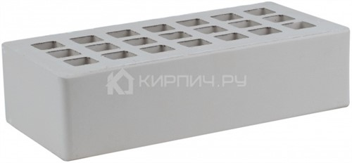 Кирпич для фасада серый одинарный КФ-3 гладкий М-175 ЖКЗ