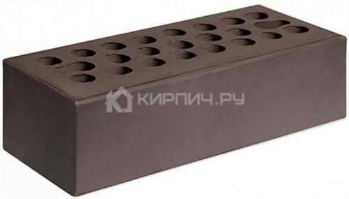 Кирпич для фасада шоколад евро гладкий М-150 Керма цена