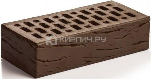 Кирпич для фасада шоколад одинарный Антик М-150 Магма
