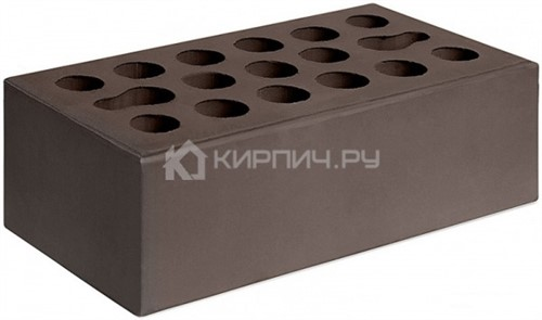 Кирпич  М-150 шоколад полуторный гладкий Керма