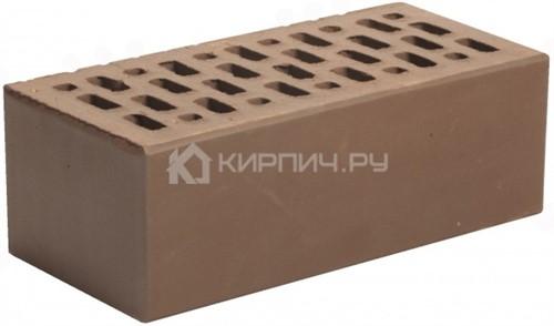 Кирпич для фасада шоколад полуторный гладкий М-150 Магма