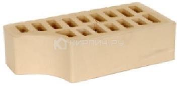 Кирпич для фасада слоновая кость одинарный гладкий фасонный внут.угол М-150 БКЗ цена