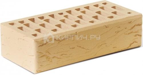 Кирпич для фасада солома одинарный риф М-150 Ростов цена