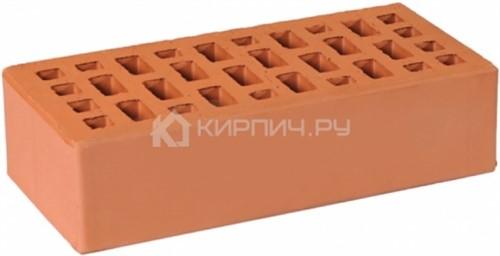 Кирпич облицовочный светло-коричневый одинарный гладкий М-175 ГКЗ в
