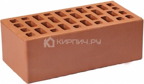 Кирпич светло-коричневый полуторный гладкий М-175 ГКЗ